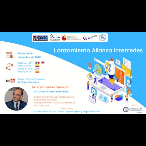 Acto de presentación Alianza Interredes para la cooperación académica