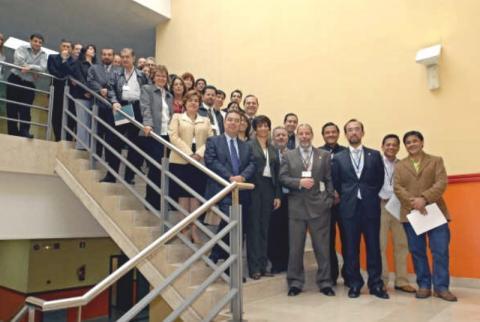 Reunión Técnica Internacional Creación Red de Investigación en PYMES
