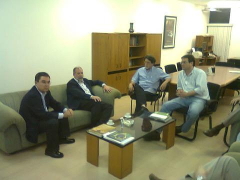 reunión en la Universidad Estadual de Campinas
